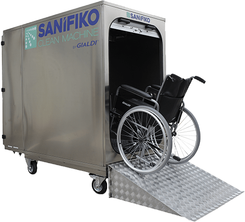 Sanifiko: Reha Clean Machine